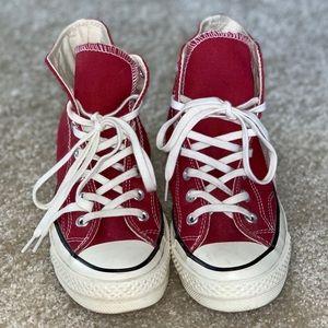 NEW Converse All Star 70 Textile Hi-tops - Crimson